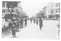 Khmer Rouge Forces entered Phnom Penh in 1975