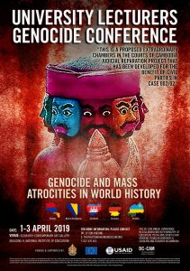 GENOCIDE CONFERENCE (1-3 April 2019)