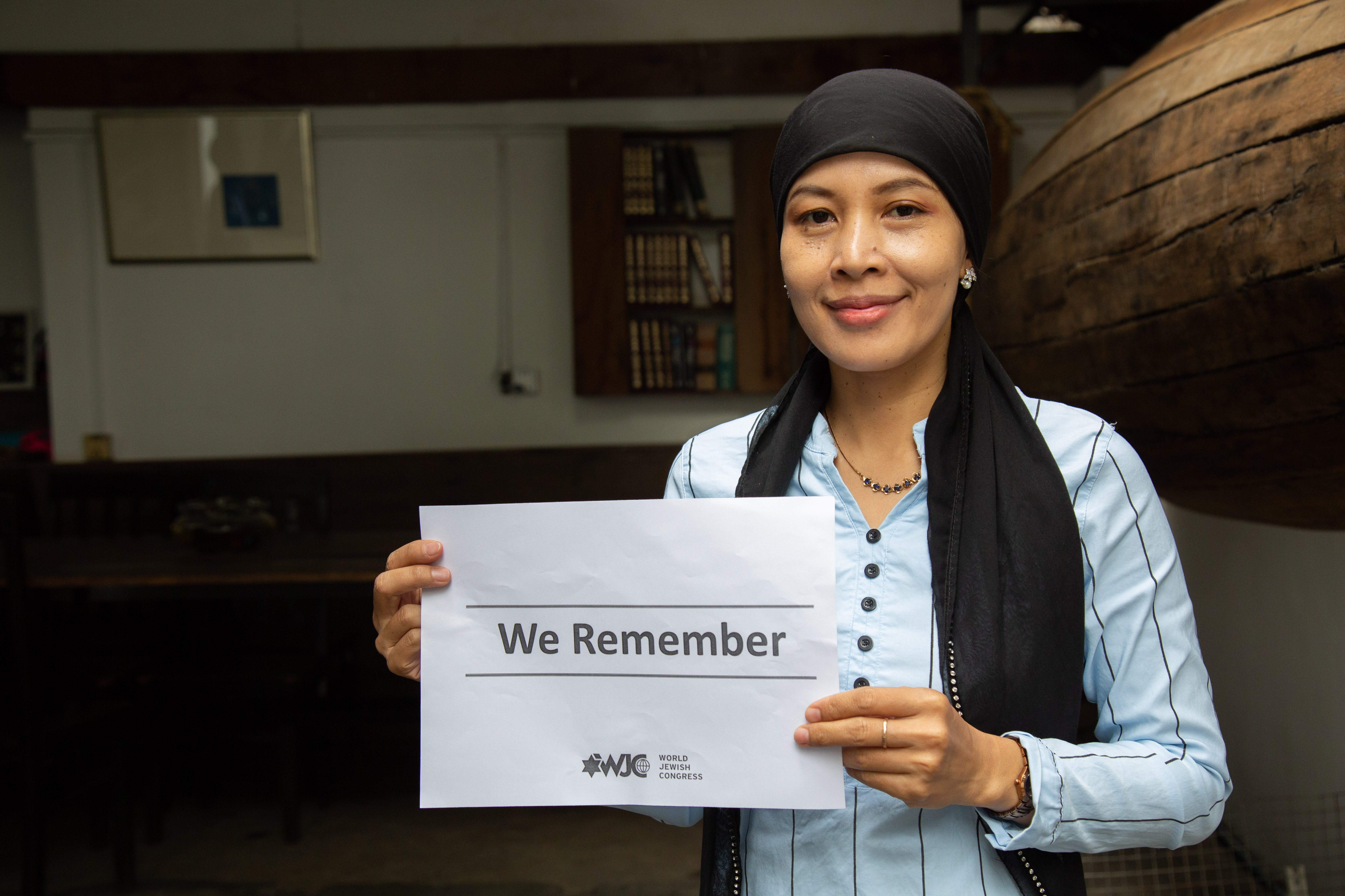 DC-CAM IN SUPPORT FOR WE REMEMBER_WORLD JEWISH CONGRESS. The 2019 #WeRemember Campaign…