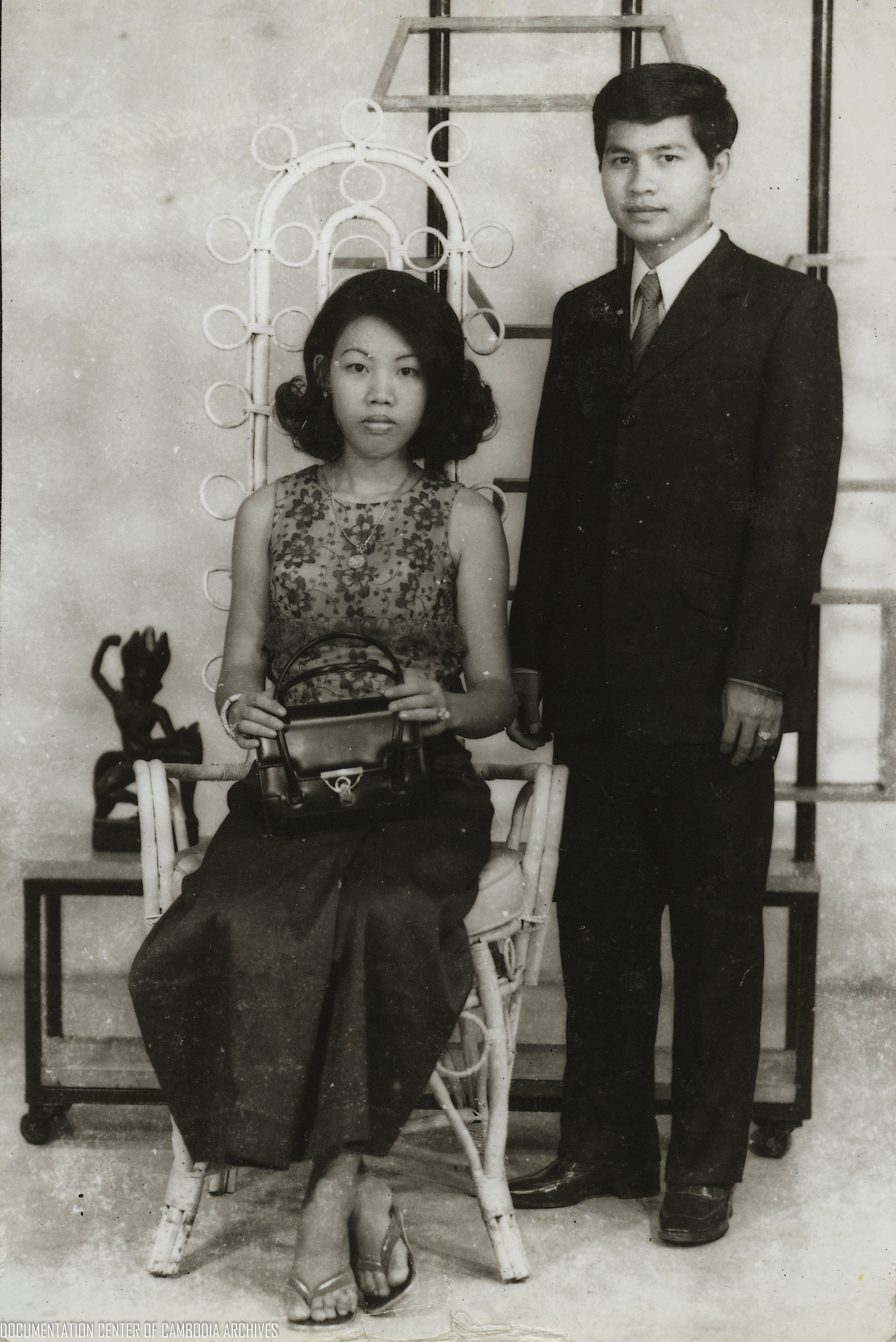 Tep Suy Ieng and Tep Kim Try (husband), 1973